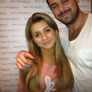 Dani Dyer with her dad Danny